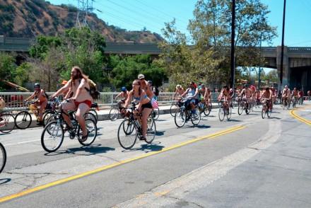 World Naked Bike Ride L.A.