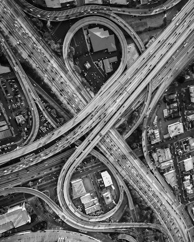 110-10 Freeway Interchange