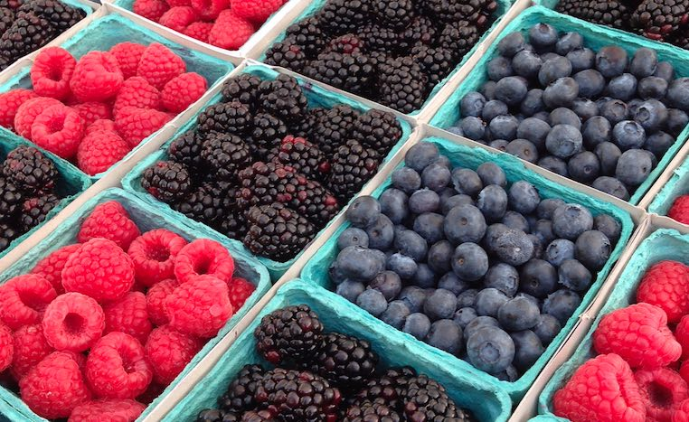 Farmer's Market Berries