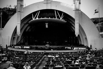 Hollywood Bowl Stage