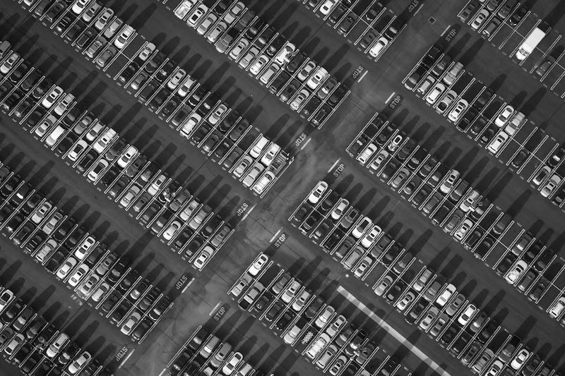 20 amazing aerial photos of l a that 39 ll change the way for Lax long term parking lot