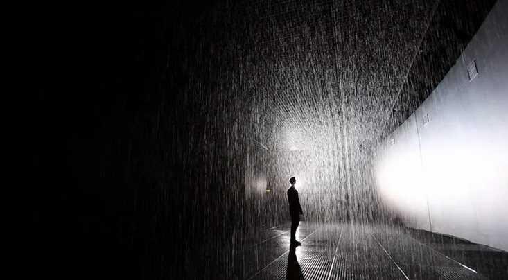 So There S A Rain Room Exhibit Coming To Lacma And It