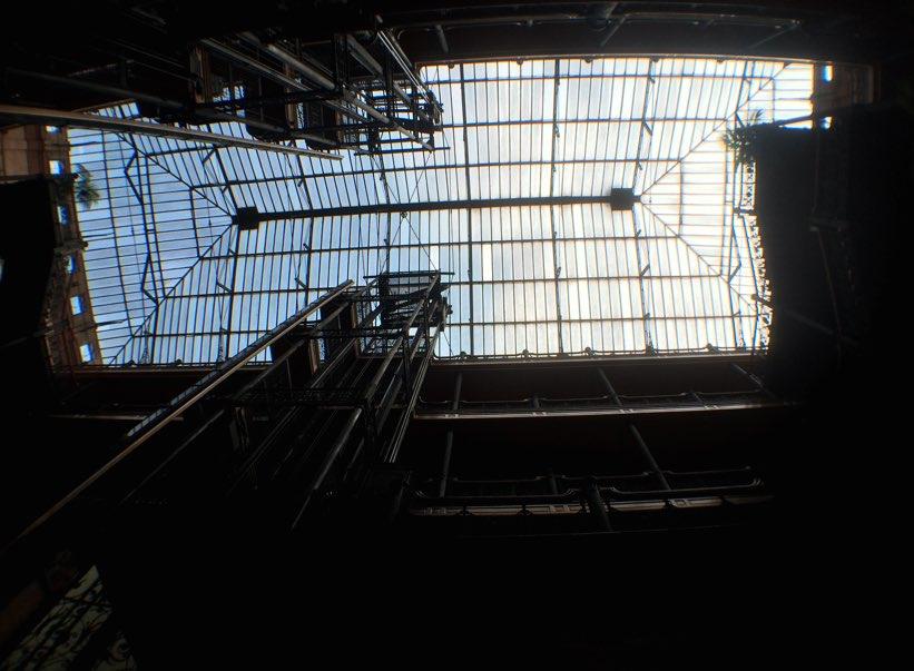 Ceiling of The Bradbury Building