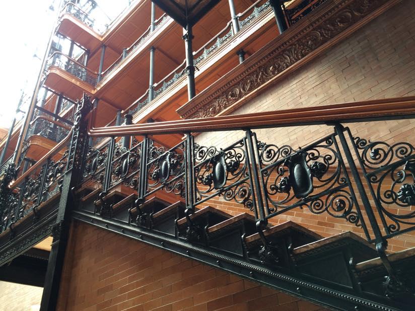 Bradbury Building Stairwell Detail