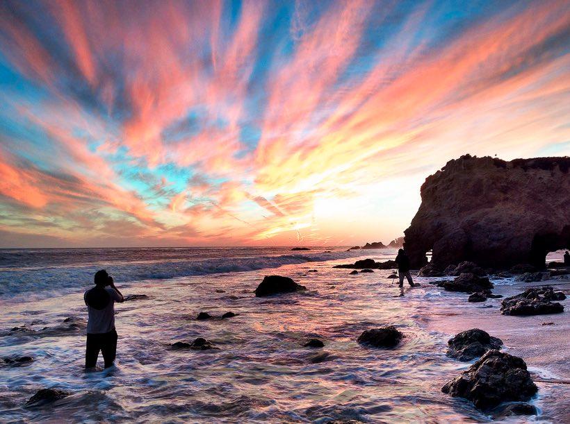 El Matador State Beach Sunset