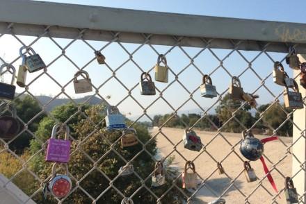 Love locks at a glance.