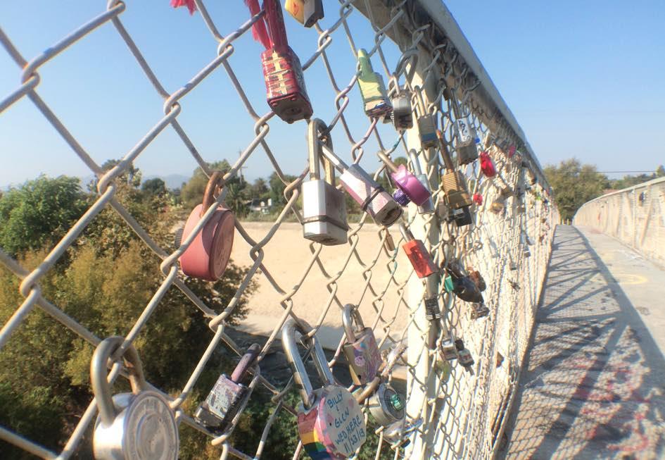 Sunnynook Bridge Love Locks