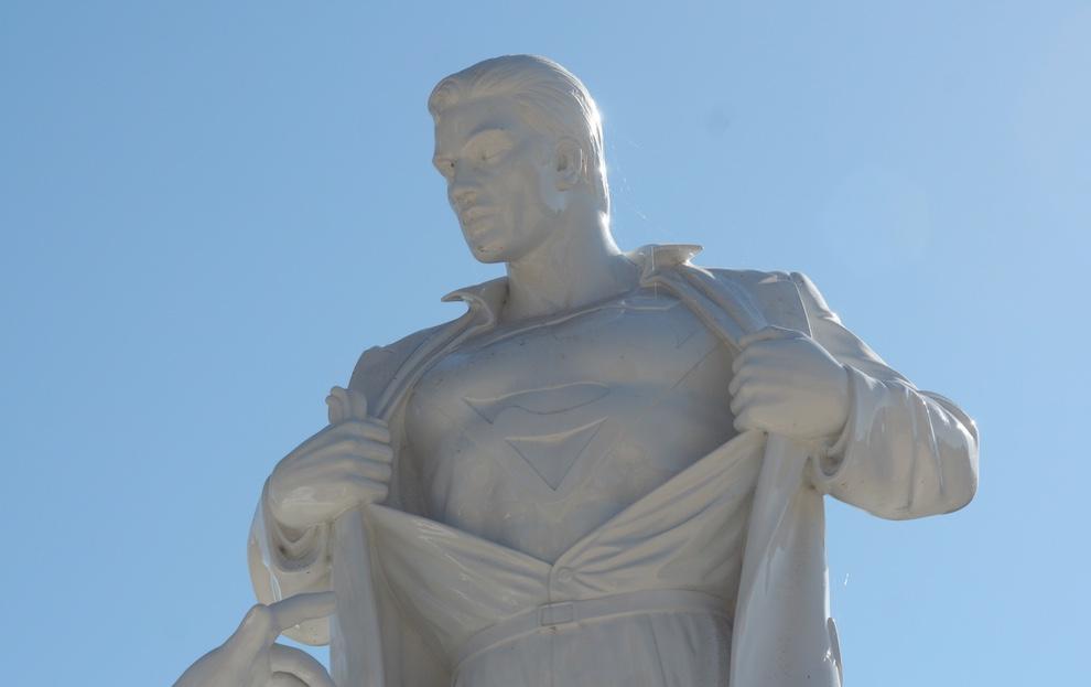 Modern Heroes Superman Closeup