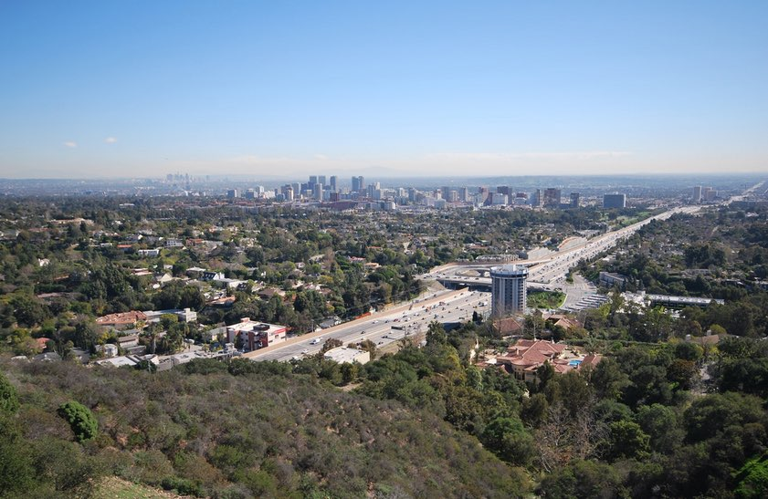 View from The Getty Museum