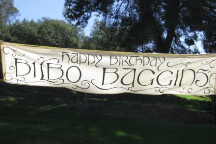 Baggins Birthday Bash
