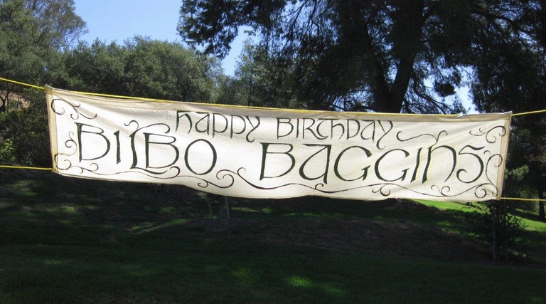 So Theres A Baggins Birthday Bash Happening This Sunday In Griffith