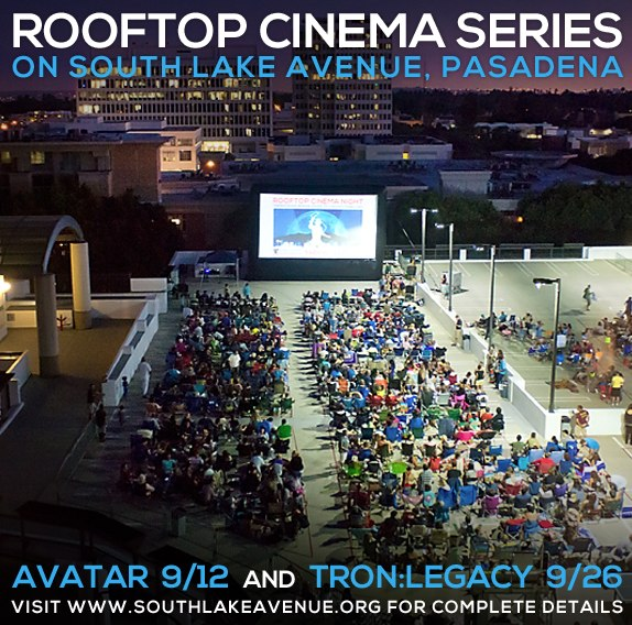 Rooftop Cinema Pasadena