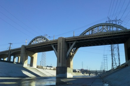 6th Street Bridge in Downtown Los Angeles
