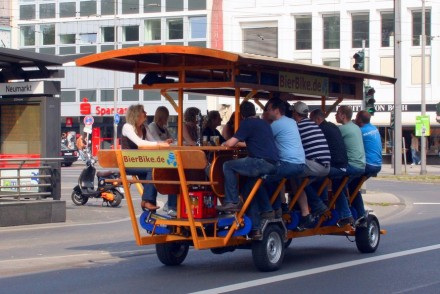Beer Bike in Germany