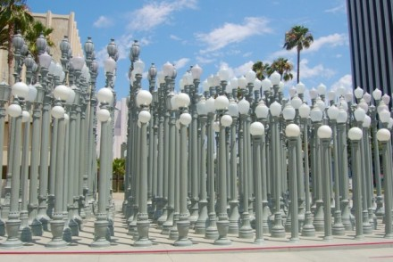 Urban Light LACMA