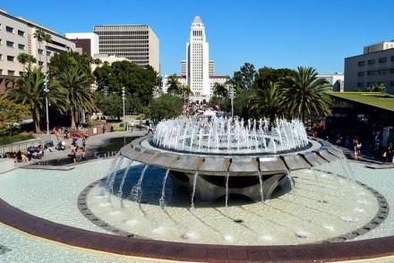 Grand Park LA Fountain