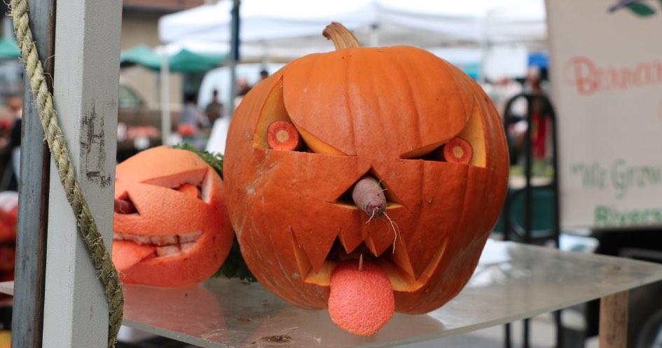 Santa Monica Farmers Market Pumpkin