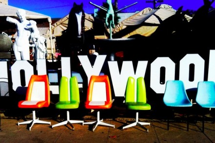 Hollywood Sign Letters