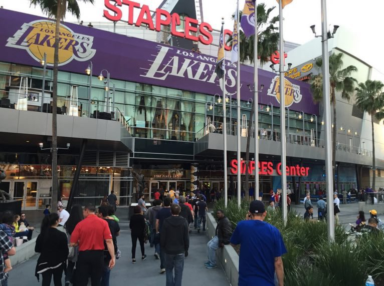 Staples Center Exterior