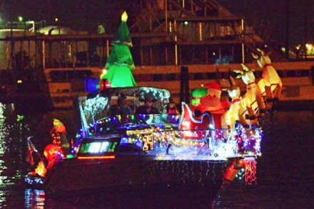 LA Harbor Holiday Afloat