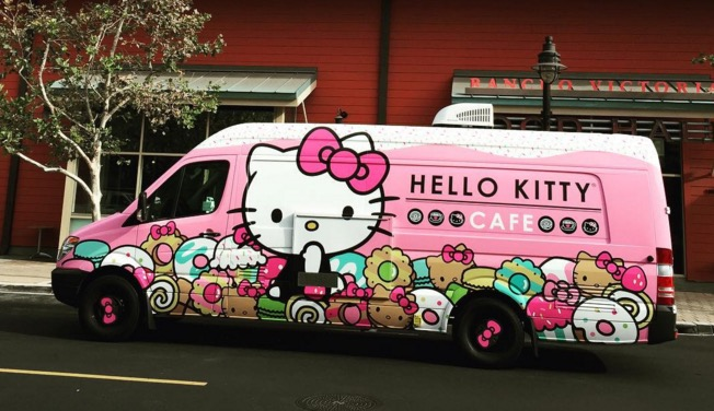 A Hello Kitty Cafe Truck Will Be Popping Up At The