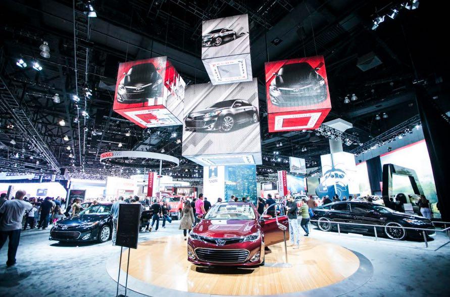 The 2015 la auto show starts this week for Kia motors downtown la