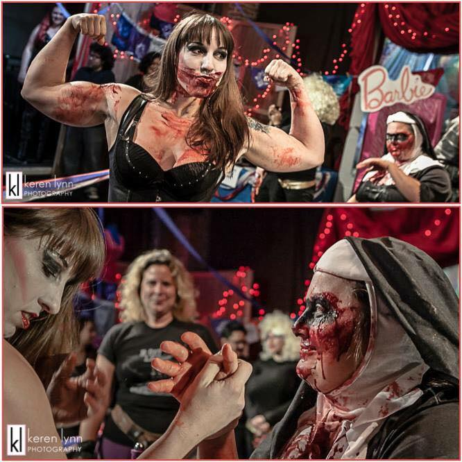 The Los Angeles Lady Arm Wrestlers Are Having A 'Fall