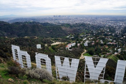 Hollywood Sign at Mt. Lee