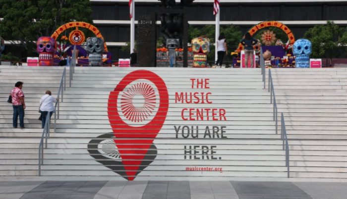 Music Center Los Angeles Steps