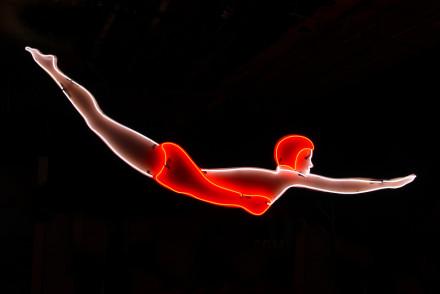 Museum of Neon Art Diver