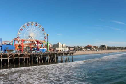 Santa Monica Pier Ferris Wheel