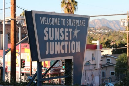Sunset Junction Sign