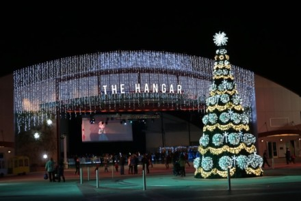 Winter Fest OC Hangar Lights