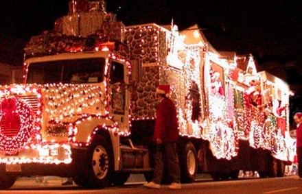 Magical Caroling Truck
