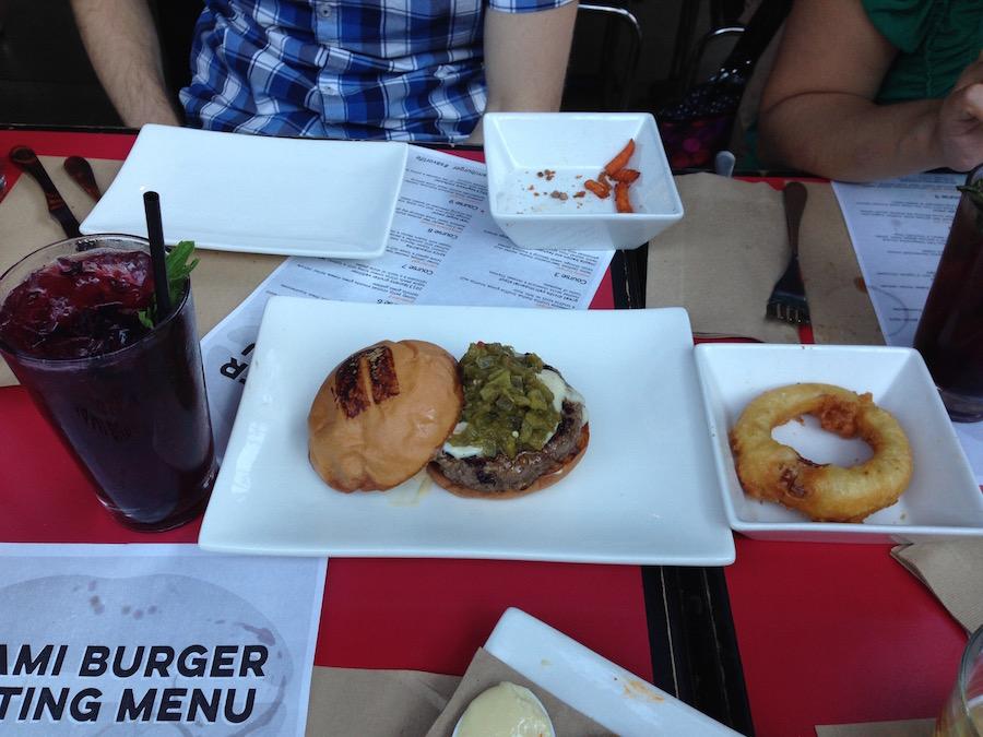 umami burger tasting menu