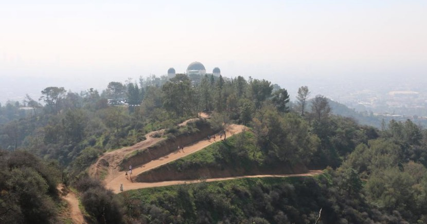 Hazy Griffith Park