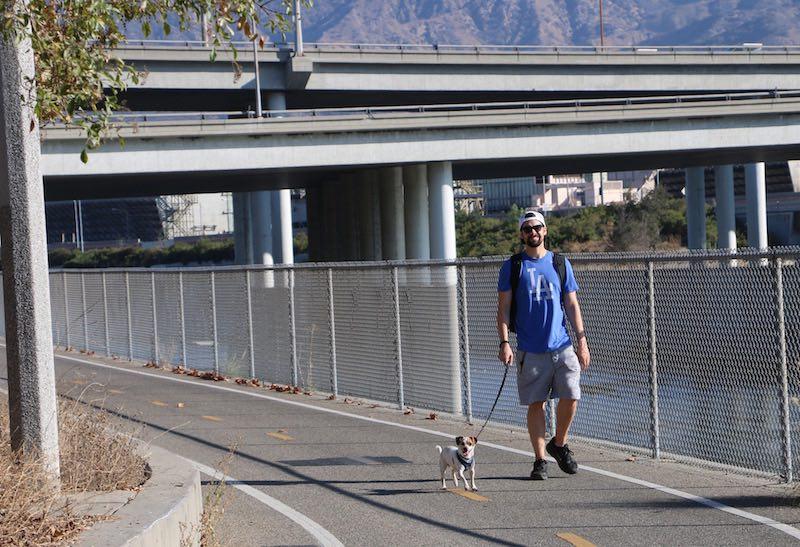 L.A. River Bike Path