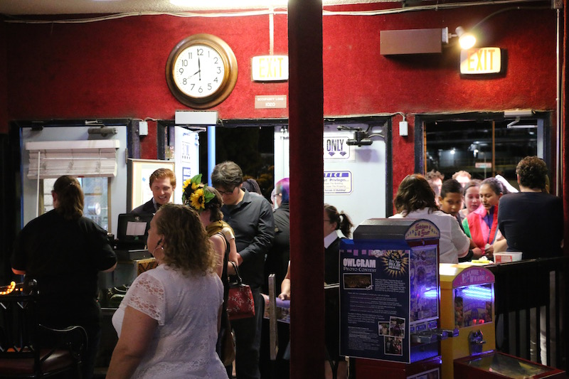 Fans enter Harry Potter Rollernight