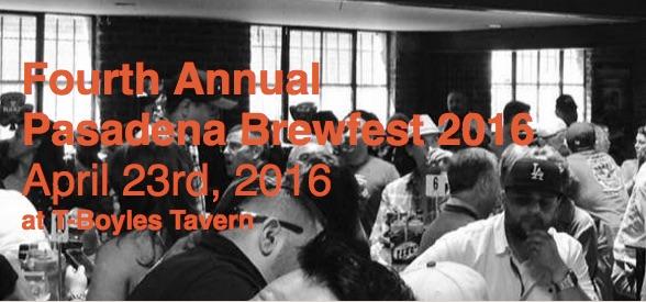 pasadena brewfest 2016