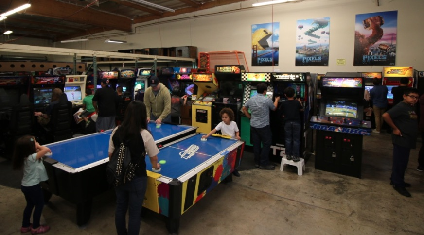 Royce's Arcade Warehouse