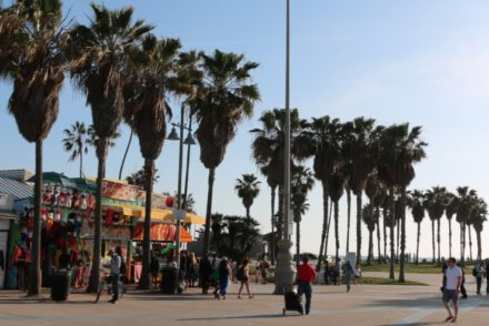 Sunny Afternoon Venice Boardwalk