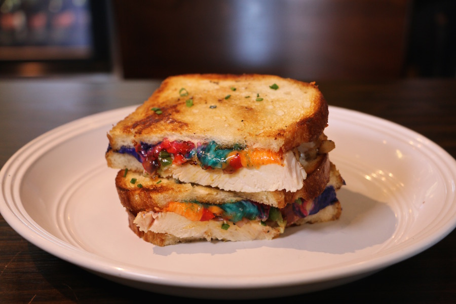 Unicorn Melt with Chicken