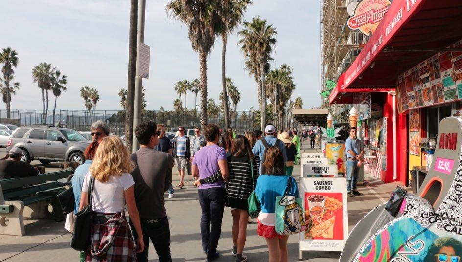 Venice Boardwalk Afternoon