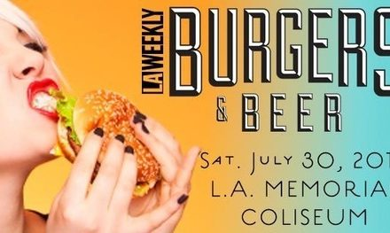 la weekly burgers and beer