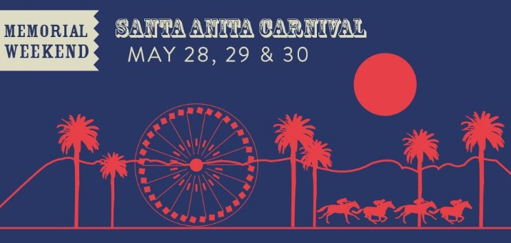 Santa Anita Festival On Memorial Day Weekend