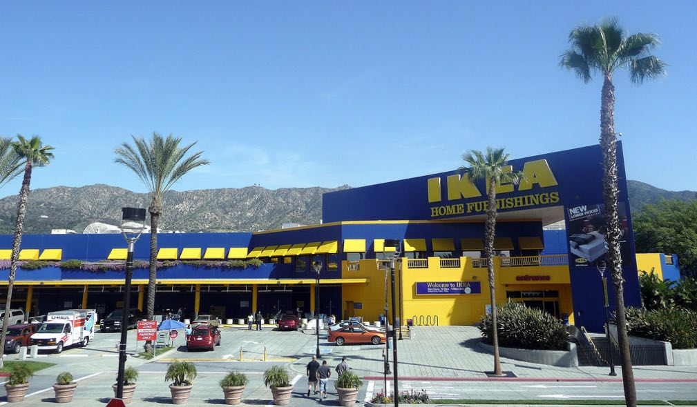 so the ikea in burbank is being converted into a massive