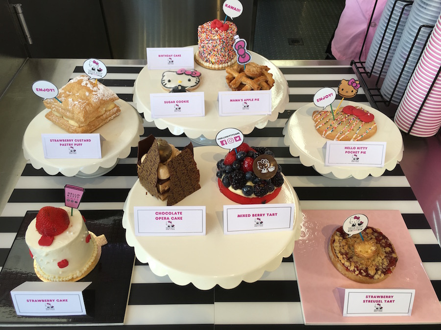 Hello Kitty Cafe Pastries