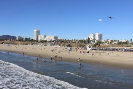 santa monica beach featured