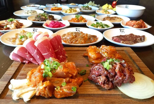 All You Can Eat Korean Food Los Angeles