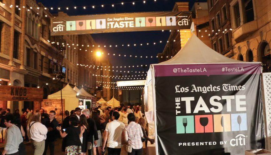 L.A. Times' The Taste